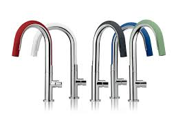 colored kitchen faucets flexible silicone kitchen faucet moves 360 degrees design milk