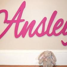 Wooden Nursery Decor Personalized Wooden Baby Name Signs For Nursery Custom Baby