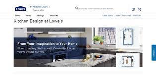 lowes kitchen cabinets design tool lowes room designer tool for kitchen floor plans