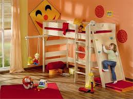 gorgeous image of awesome kid bedroom decoration using white