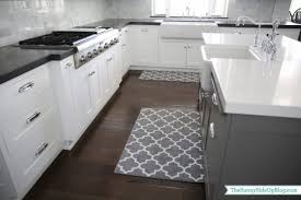 Trellis Kitchen Rug Kitchen Best White And Grey Moroccan Trellis Kitchen Rug For