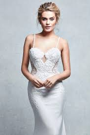 wed2b signature collection u0026quot pea u0026quot fishtail wedding dress