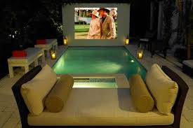 Backyard Outdoor Theater by 5 More Ways To Mancave Your Backyard