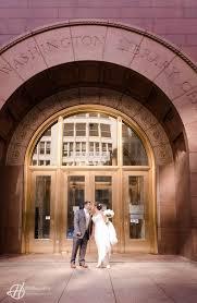 debbie u0026 jessus u0027 wedding at harold washington library in chicago