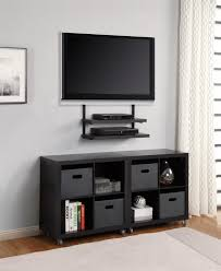 Black Wall Bookshelf Wall Units Inspiring Wall Shelves With Tv Under Tv Wall Shelves