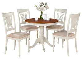 AnplWhi Kitchen Table Set Traditional Dining Sets By - Kitchen table nook dining set