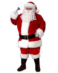 santa costume regency plush santa suit costume santasuitexpress