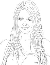 victoria justice american singer coloring pages hellokids com