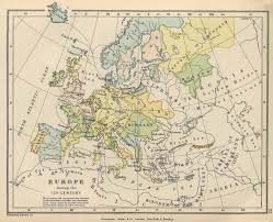 Europe In World War 1 Map by