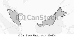 map malaysia vector map malaysia map of malaysia and nearby countries vector