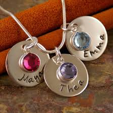 Children S Birthstone Necklace 7 Best Kids Name Jewelry Want For My Birthday Images On