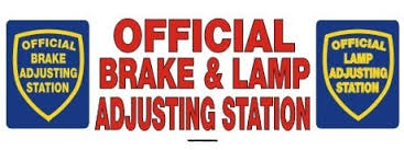 brake and light inspection locations official brake and l adjustment station brake and l