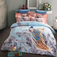 online get cheap peacock bed sheets aliexpress com alibaba group