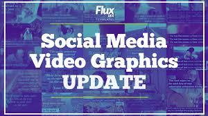 social media video text pack fluxvfx