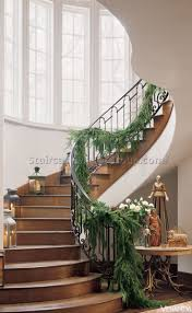 decorate spiral staircase christmas best staircase ideas design