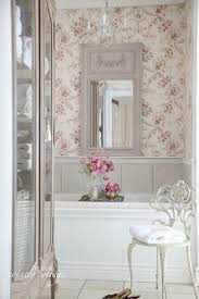shabby chic bathrooms on budget rectangle long modern wall