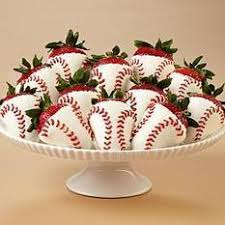 baseball themed wedding for baseball theme wedding 12 dipped home run berries