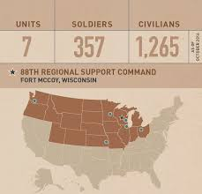 Where Is Wisconsin On The Map by U S Army Reserve U003e Commands U003e Support U003e 88th Rsc