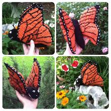 monarch butterfly crochet stuffed amigurumi pattern