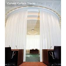 Motorized Curtain Track System Cl 920 Curved Single Track System