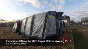 Sunncamp 390 Porch Awning Sunncamp Ulitma Air 390 Super Deluxe Awning 2016 Also Available
