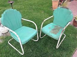 Vintage Patio Furniture Metal by Vintage Metal Outdoor Furniture