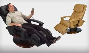 Brookstone Chair Massager Human Touch Massage Chairs Groupon Goods
