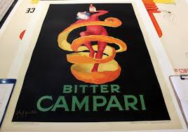 campari art bitter campari original poster by cappiello 39