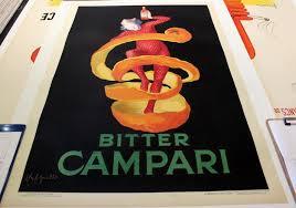 campari art bitter campari original poster by cappiello 39