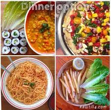 Raw Food Dinner Ideas 12 Best Raw Till 4 Cooked Recipes Images On Pinterest Vegan