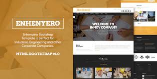 enhenyero engineering industrial theme by bootstrap7themes
