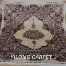 Silk Shag Rug Purple Shag Rug Purple Shag Carpet Lyke Home Jumbo Thick Purple