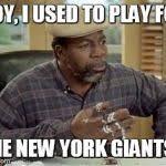 New York Giant Memes - stubbs meme generator imgflip
