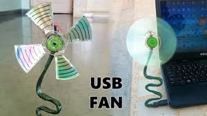 how to make a fan how to make a usb fan using cd at home easy way