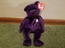 ty 1997 1st edition princess diana beanie bear ebay