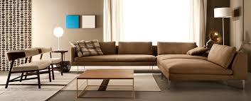 canapé d angle modulable contemporain en cuir aspen