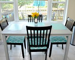 chair cushions for dining room chairs dining room elegant with turquoise endearing design amazing