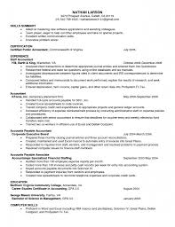 Sample Resume Format For Accountant Resume Template Open Office Exampl Templates With Download Free