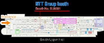 nab floor plan ntt electronics to exhibit new products and technologies at nab