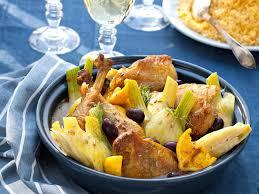 comment cuisiner le fenouil tajine de poulet au fenouil recettes femme actuelle