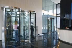 glass security doors entry door revolving glass security geryon srd s01 kaba