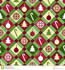 christmas pattern red green christmas quilt pattern stock vector illustration of background