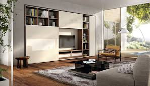 Tv Table Design Wood Contemporary Tv Wall Unit Lacquered Wood Walnut Mega Design