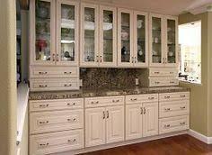 Cream Colored Kitchen Cabinets by Cream Maple Kitchen Cabinets Microwave Cabinet Painted Ivory