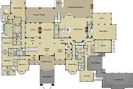mediterranean mansion floor plans 18 000 square foot newly built mediterranean mansion in the