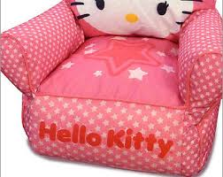 toddler bean bag chair sofa hello kitty girls bedroom couch kids