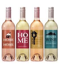 gift wine housewarming gift wine label set icustomlabel