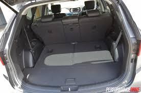 cargo space in hyundai santa fe 2015 hyundai santa fe elite review performancedrive
