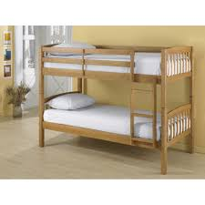 dorel belmont twin bunk bed pine