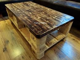 Diy Wooden Pallet Coffee Table by Euro Pallet Wood Coffee Table 99 Pallets